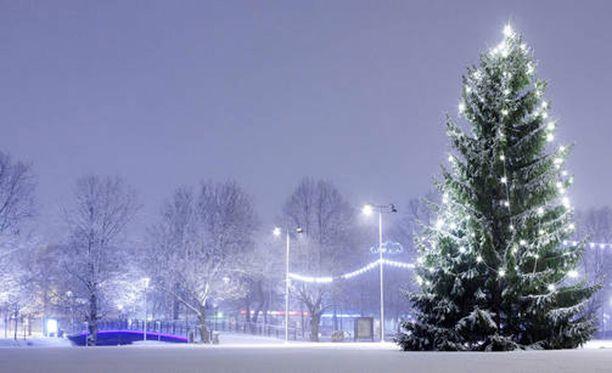 Ennusteen mukaan jouluun asti on tavanomaista kylmempää, mutta sateita voi olla hieman tavallista vähemmän.