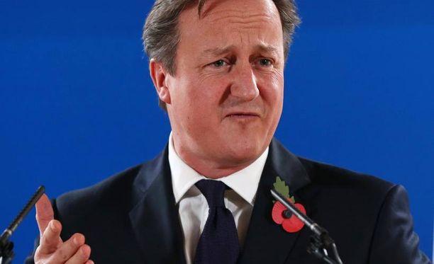Tarina ei kerro, maistuiko poropaisti Britanian pääministerille David Cameronille.
