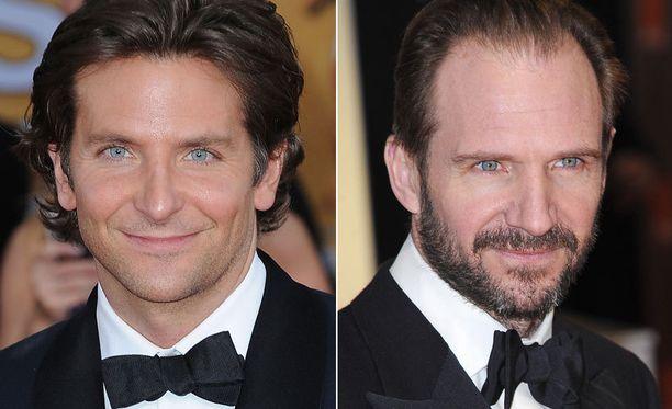 Bradley Cooper ja Ralph Fiennes.