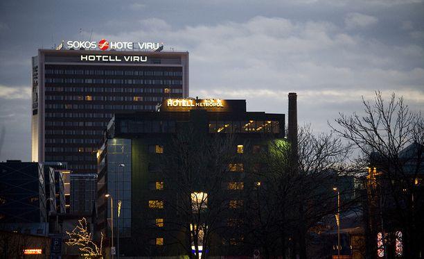 Raiskaus tapahtui ulkona vajaan kilometrin päässä hotelli Virusta.