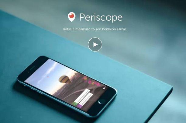Periscopesta on tullut nopeasti nuorten suosima sosiaalisen median väline.
