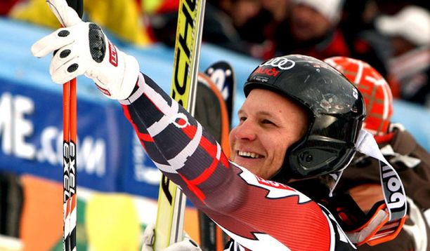Kalle Palander oli yllättynyt voitostaan.