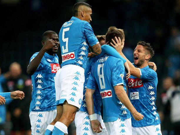 Napoli nappasi tärkeän voiton Udinesen vieraana.