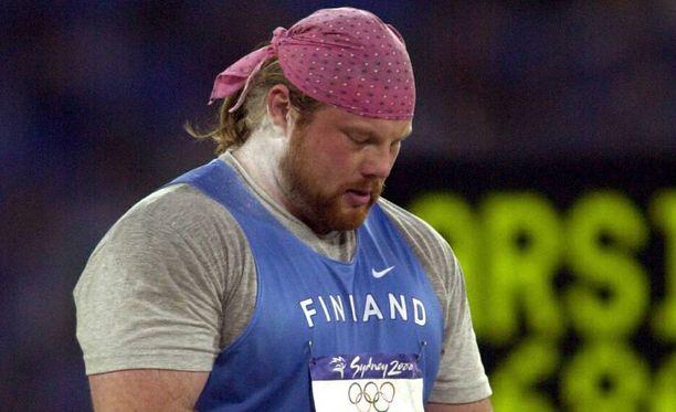 Arsi Harju työnsi olympiakultaa 18 vuotta sitten.