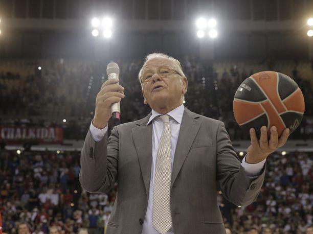 Dušan Ivković menehtyi 77-vuotiaana. Kuva vuodelta 2017.