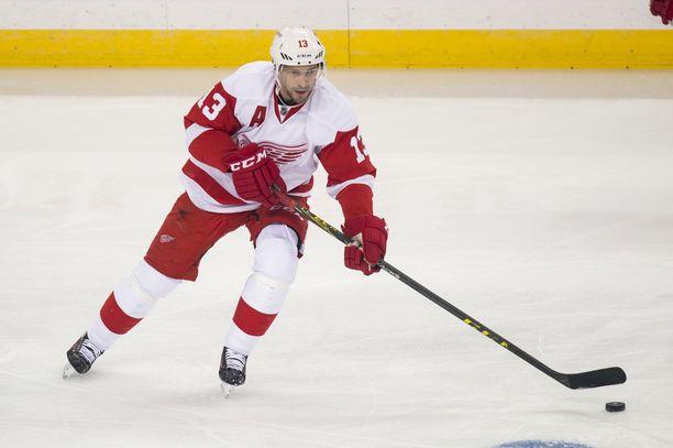 Pavel Datsjuk edusti Detroit Red Wingsiä 14 kauden ajan.