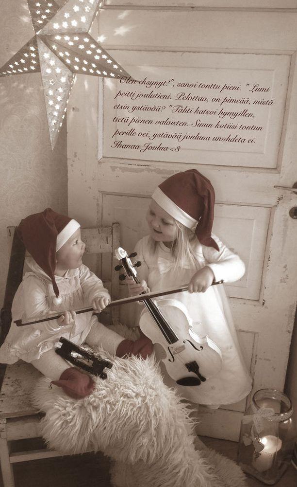 Joulun viulu-viikari tontut.
