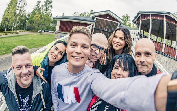 Seitsemännellä Vain elämää -kaudella nähtiin Suomen ykkösrivin artisteja.