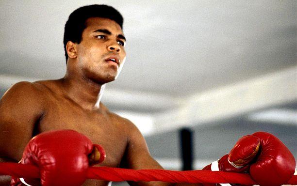 Muhammad Ali menehtyi vuonna 2016.