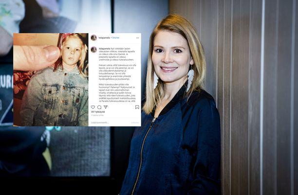 Pamela Tola on hypännyt näyttelijästä ohjaajaksi.