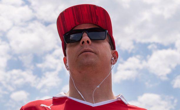 Kimi Räikkönen uskoo Ferrarin mahdollisuuksiin Bakun GP:ssä sunnuntaina.