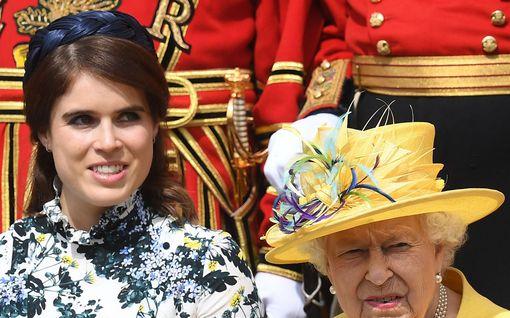 Prinsessa Eugenie joutui kuningattaren nuhteluun – syynä Instagram-julkaisu