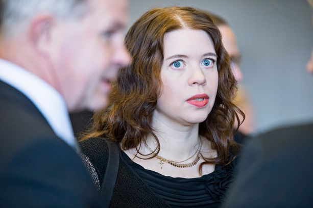Vasemmistoliitto sai pieniä summia monelta taholta. Kuvassa puolueen ainoa tamperelainen kansanedustaja Anna Kontula.