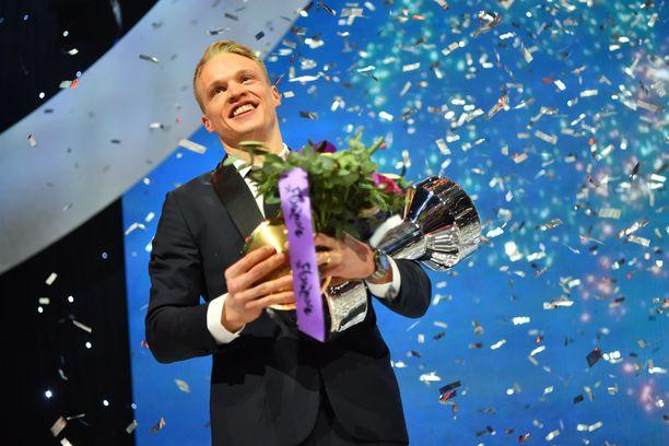 Iivo Niskanen palkittiin odotetusti Vuoden urheilijana Urheilugaalassa Hartwall-areenassa.