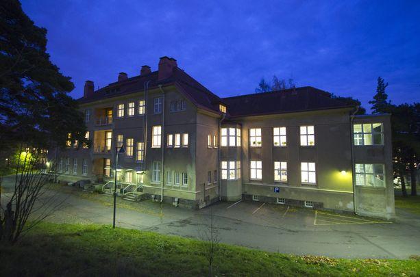Mielenterveyspotilaan pahoinpitely tapahtui Auroran sairaalassa Helsingissä.