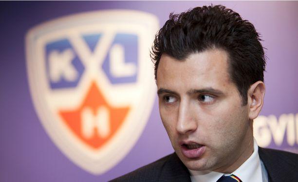 Roman Rotenberg toivoo KHL:n kasvavan Eurooppaan.