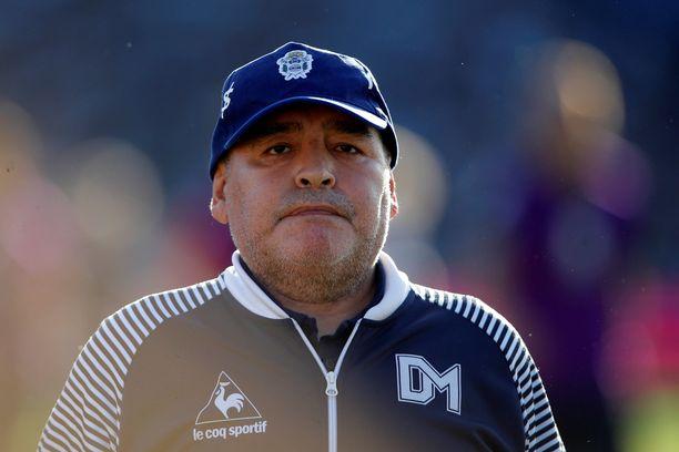 Diego Maradona on kaikkien aikojen parhaita jalkapalloilijoita.