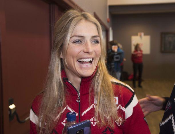 Therese Johaugia hymyilytti viime viikonloppuna, kun hän menestyi Norjan kansallisissa hiihdoissa.