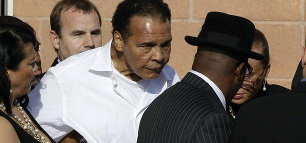 Muhammad Ali kunnioitti entisen vastustajansa muistoa.