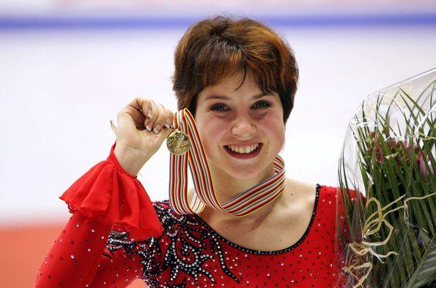 Irina Slutskaja voitti vuonna 2006 Euroopan mestaruuden, uransa seitsemännen ja viimeisen.