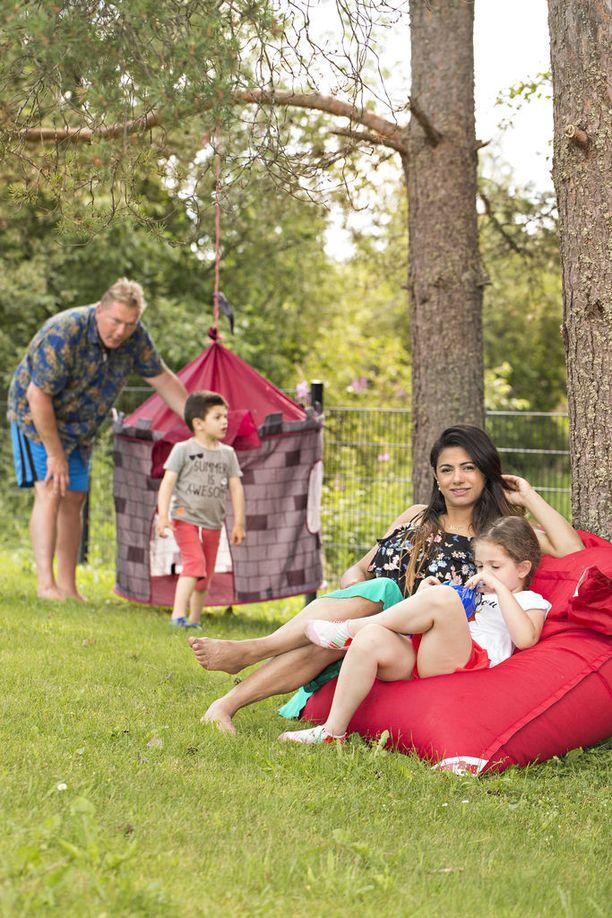 Keskinen on viettänyt kesää töiden merkeissä ja perheensä kanssa.