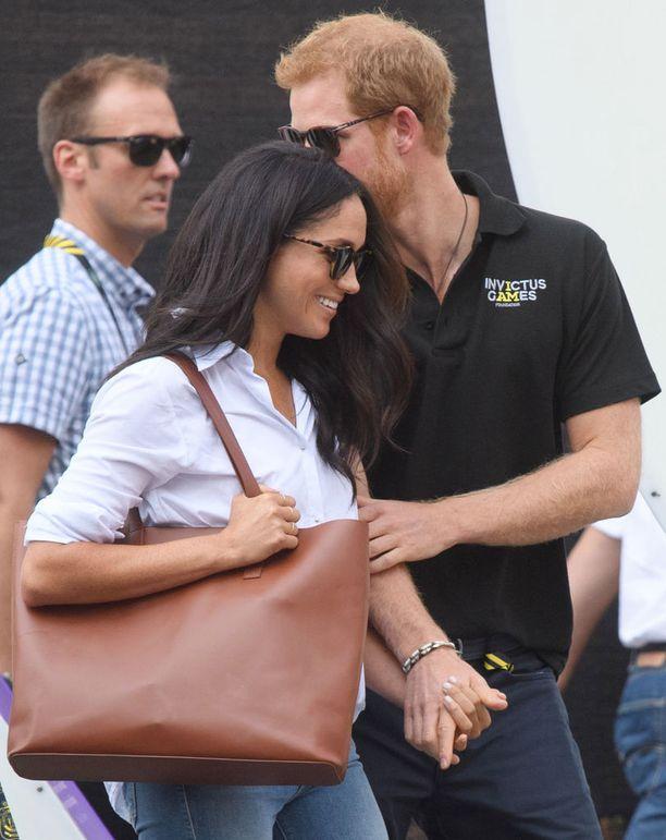 Meghan Markle ja prinssi Harry esiintyivät ensimmäisen kerran virallisesti yhdessä 25. syyskuuta Torontossa.