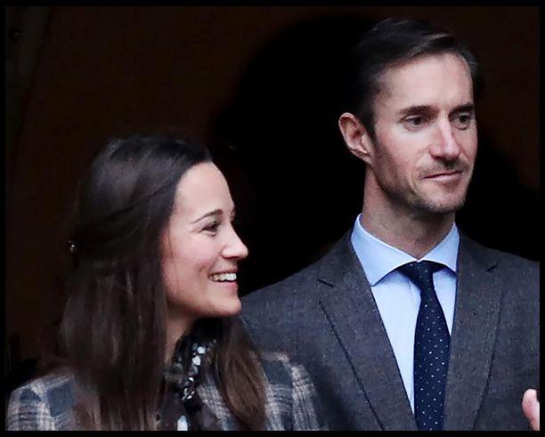 Pippa Middleton ja James Matthews menevät naimisiin tänä keväänä.