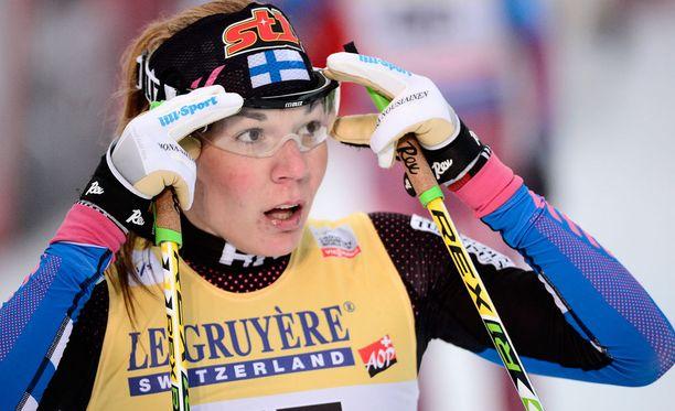 Mona-Liisa Nousiainen oli paras suomalaisnainen lauantaina.