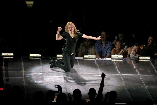 Madonna tanssii kaikilla keikoillaan.