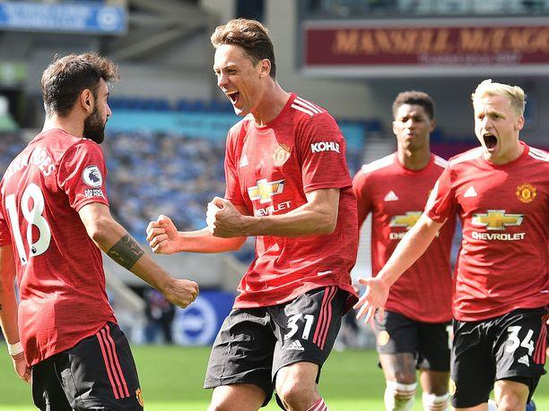Juhliiko Manchester United sunnuntaina kotinurmellaan?