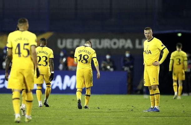 Tottenhamin tie Eurooppa-liigassa nousi pystyyn.