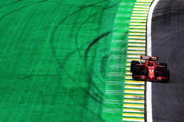 Kimi Räikkönen starttaa sunnuntaina jo 150. Ferrari-kisaansa.