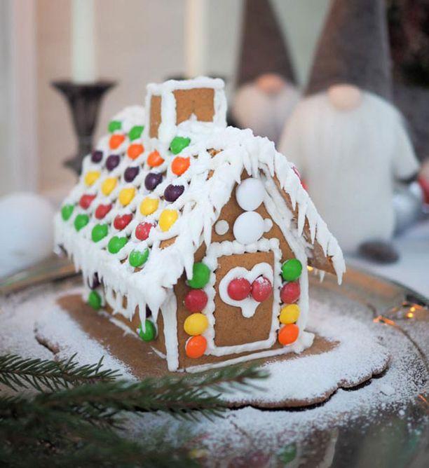 Ja näin hieno talo kaavoilla rakentuu.