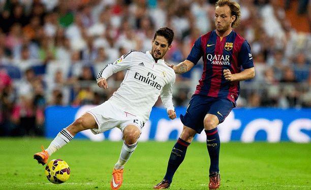 Isco otti Bernabéun nurmen komentoonsa.