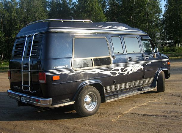 MUSABOKSI Chevrolet ChevyVan G20 LX Starcraft