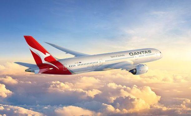 17 tunnin suora lento Lontoosta Perthiin koettelee istumalihaksia.