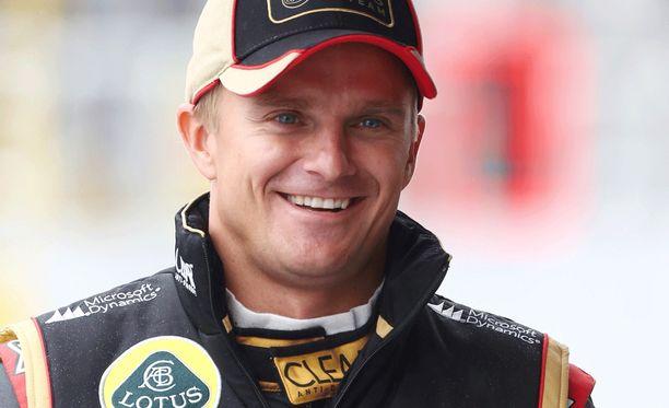 Heikki Kovalainen käväisi testaamassa pyöräilykuntonsa.