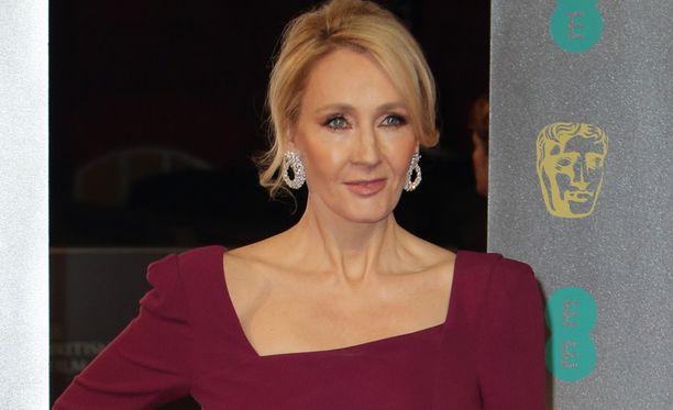 Kuvassa kirjailija J.K. Rowling helmikuussa 2017.