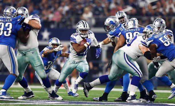 Dallas Cowboys kaatoi Detroit Lionsin.