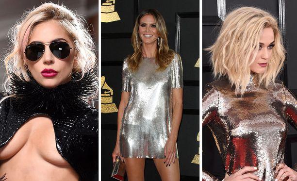 Grammy-gaalan punaisella matolla tähdet pukevat päälleen vain parasta.