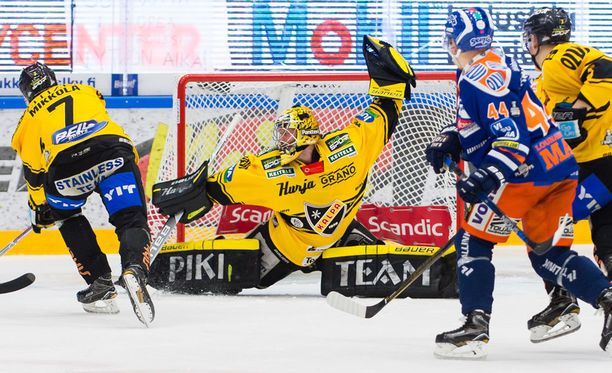 Eero Kilpeläinen pelasi vahvan ottelun 3. finaalissa Tampereella lauantaina, mutta oliko Tapparan voittomaali otettavissa?