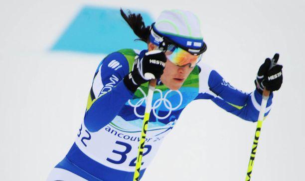 Ei auennut Aino-Kaisan mitalitili ainakaan sprintistä.