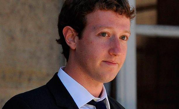 Facebookin perustaja Mark Zuckerberg.