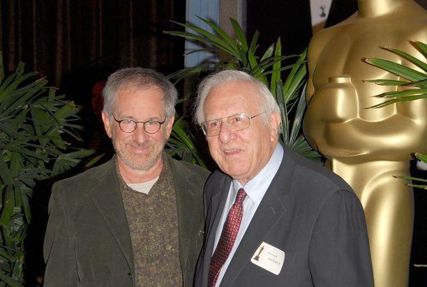 Steven ja Arnold Spielberg yhteiskuvassa vuonna 2006.