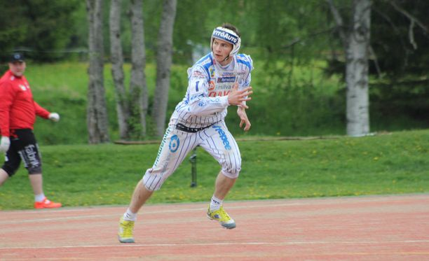 Olli Heikkala on noussut ryminällä pesäpalloeliittiin.