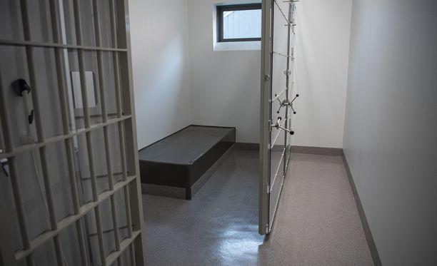 Hämeenlinnan vankila on vastikään uusittu. Kuva eristyssellistä.