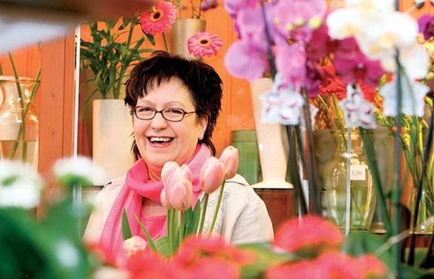 - Oman perheeni tuella oli alan vaihdossa iso merkitys, sanoo floristi Anne Hane.