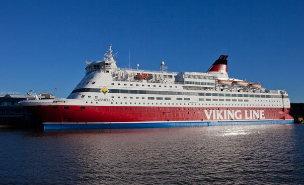 Uhkaava tilanne sattui Viking Linen m/s Gabriella -laivalla.