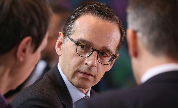 Saksan oikeusministeri Heiko Maas haluaa, että maahanmuuttajat kunnioittavat Saksan lakeja ja tapoja.