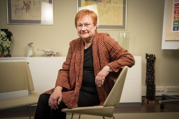 Presidenttikausillaan Tarja Halonen puhui vahvasti kestävän kehityksen puolesta.